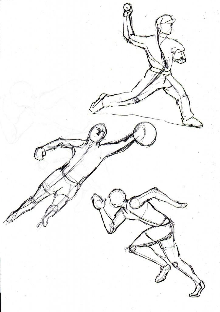Poses Sketching