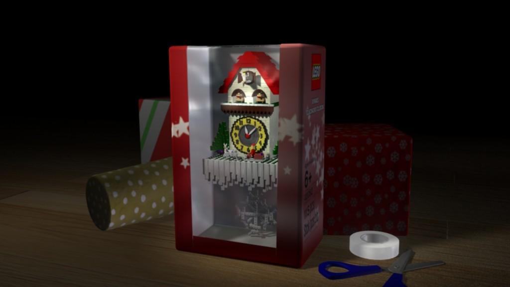 Lego Cuckoo Clock