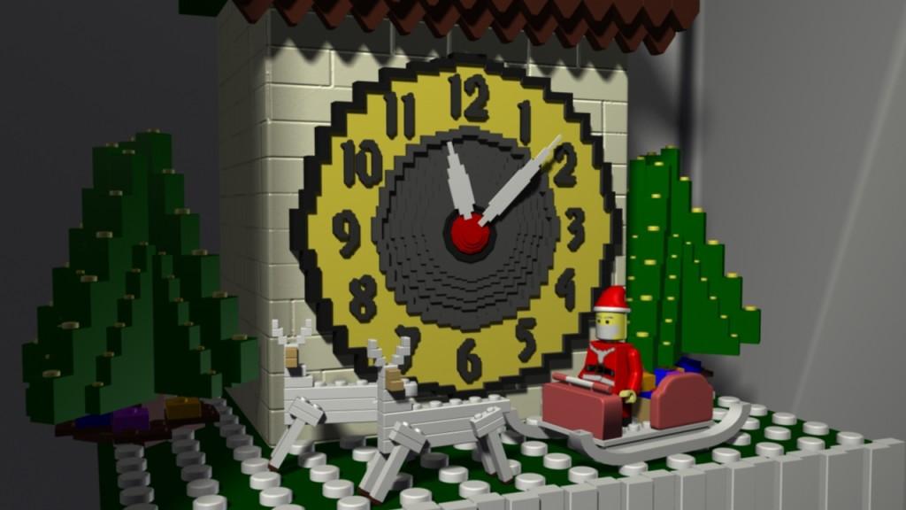 Lego Cuckoo Clock 02